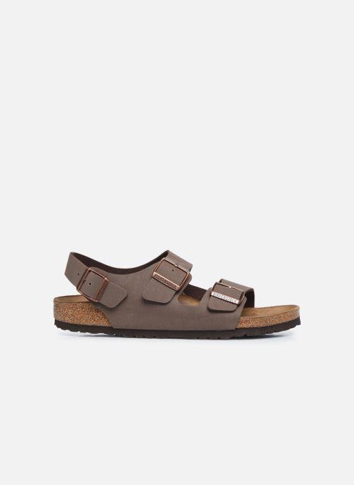 Sandales et nu-pieds Birkenstock Milano Marron vue derrière