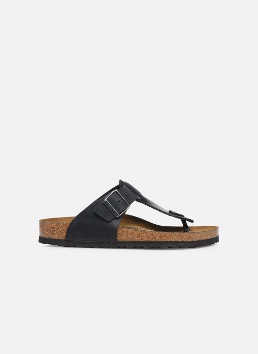 Slippers Birkenstock Medina Cuir M Zwart achterkant