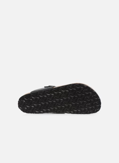 Slippers Birkenstock Medina Cuir M Zwart boven