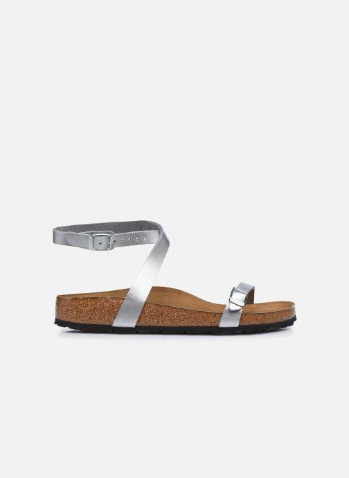 Sandali e scarpe aperte Birkenstock Daloa Flor W Argento immagine posteriore