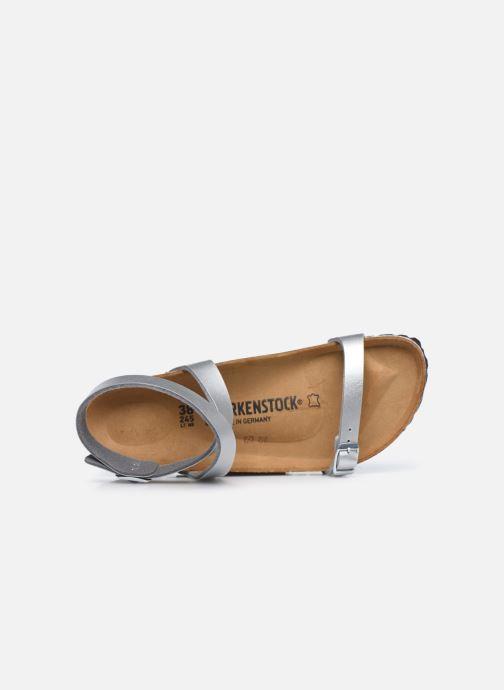 Sandali e scarpe aperte Birkenstock Daloa Flor W Argento immagine sinistra