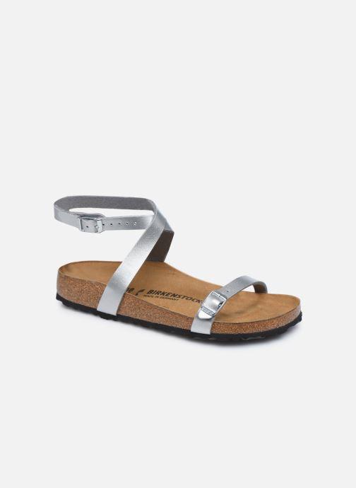 Sandali e scarpe aperte Birkenstock Daloa Flor W Argento vedi dettaglio/paio