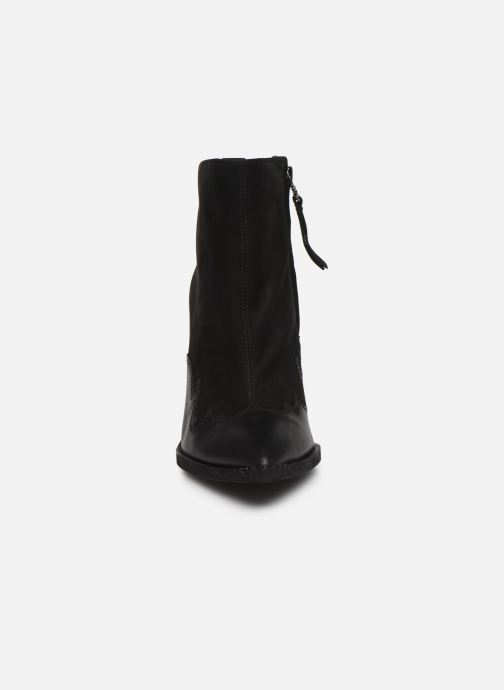 Stivaletti e tronchetti Sam Edelman ILAH BLACK Nero modello indossato