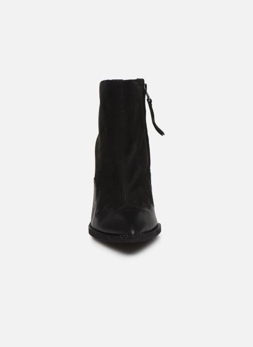 Bottines et boots Sam Edelman ILAH BLACK Noir vue portées chaussures