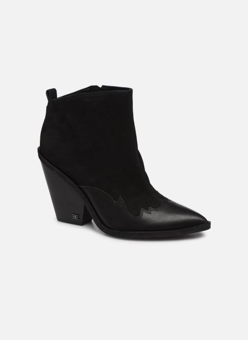 Bottines et boots Sam Edelman ILAH BLACK Noir vue détail/paire