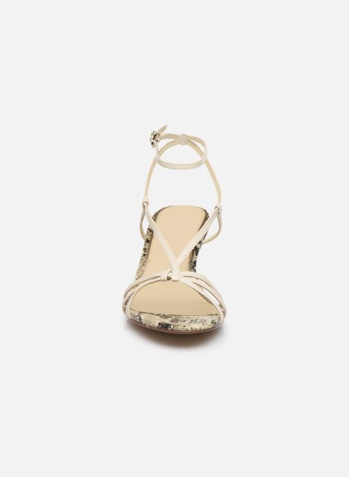 Sandales et nu-pieds Sam Edelman PIPPA GOAT KID NAPPA LTHR Beige vue portées chaussures