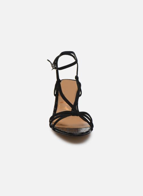 Sandales et nu-pieds Sam Edelman PIPPA KID SUEDE LEATHER Noir vue portées chaussures