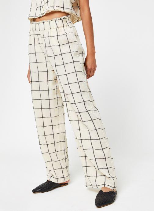 Abbigliamento OBJECT Objdanja Pants Bianco vedi dettaglio/paio