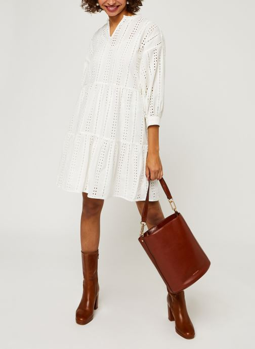 Vêtements OBJECT Objerin Dress Blanc vue bas / vue portée sac