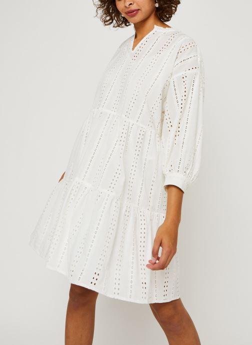 Vêtements OBJECT Objerin Dress Blanc vue droite