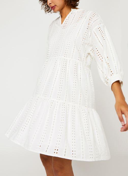 Vêtements OBJECT Objerin Dress Blanc vue détail/paire