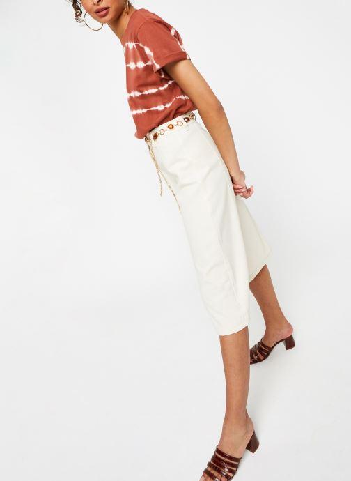 Vêtements OBJECT Objhera Top Marron vue bas / vue portée sac
