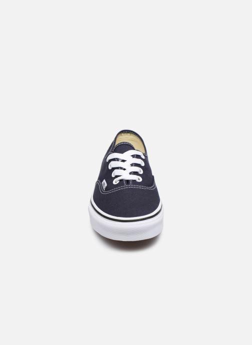 Baskets Vans Authentic W V Bleu vue portées chaussures