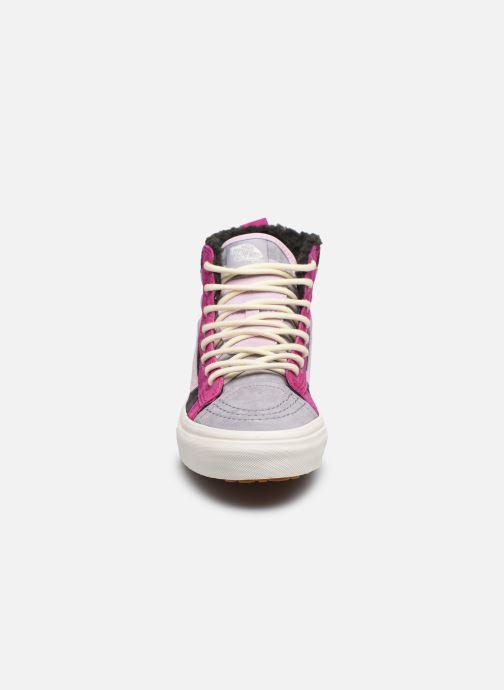 Baskets Vans Sk8-Hi 46 MTE DX W V Violet vue portées chaussures