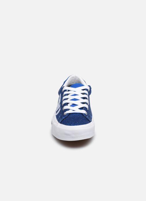 Baskets Vans Sid NI V Bleu vue portées chaussures