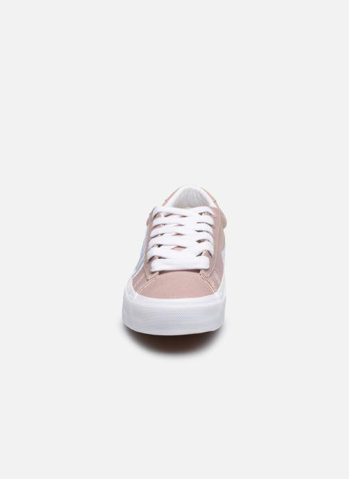 Baskets Vans Sid NI V Rose vue portées chaussures