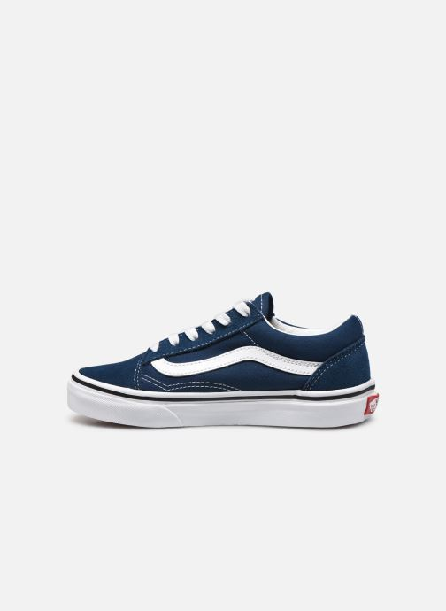 Baskets Vans Old Skool K V Bleu vue face