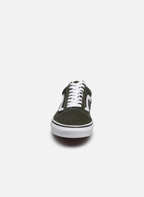 Sneakers Vans Old Skool Vv Verde modello indossato