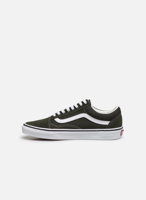 Sneakers Vans Old Skool Vv Verde immagine frontale