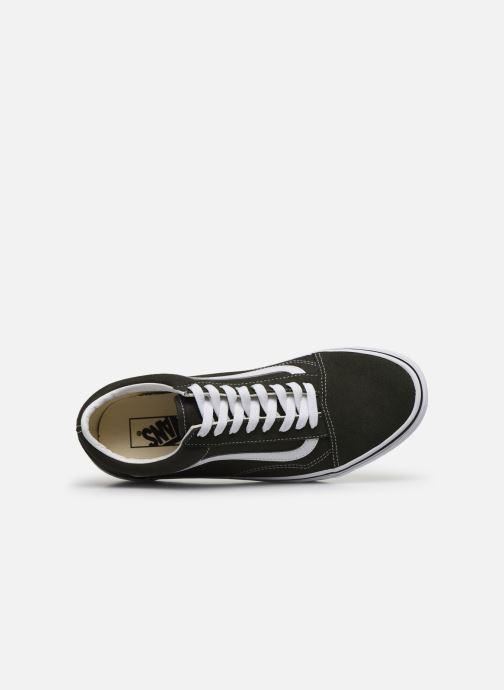 Sneakers Vans Old Skool Vv Verde immagine sinistra