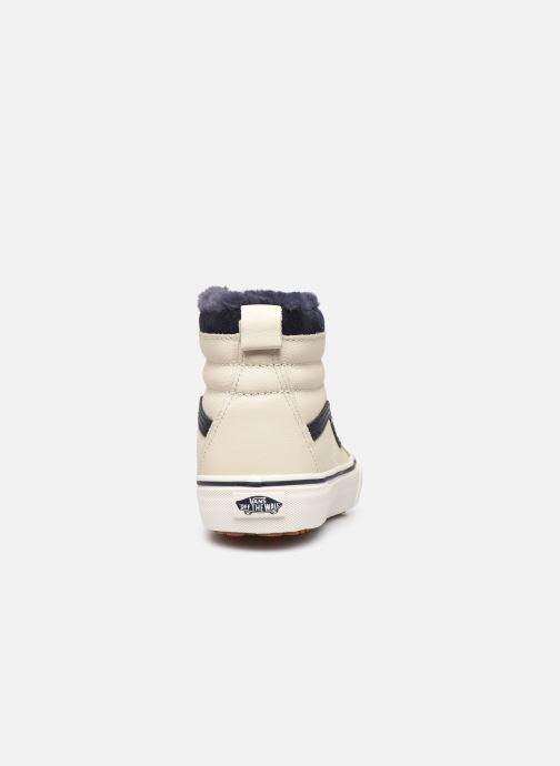 Baskets Vans SK8-Hi W MTE V Beige vue droite