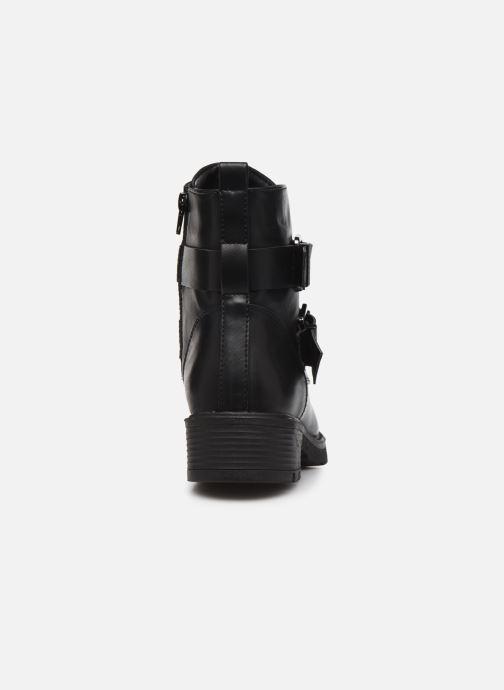 Botines  I Love Shoes THUROCK Negro vista lateral derecha