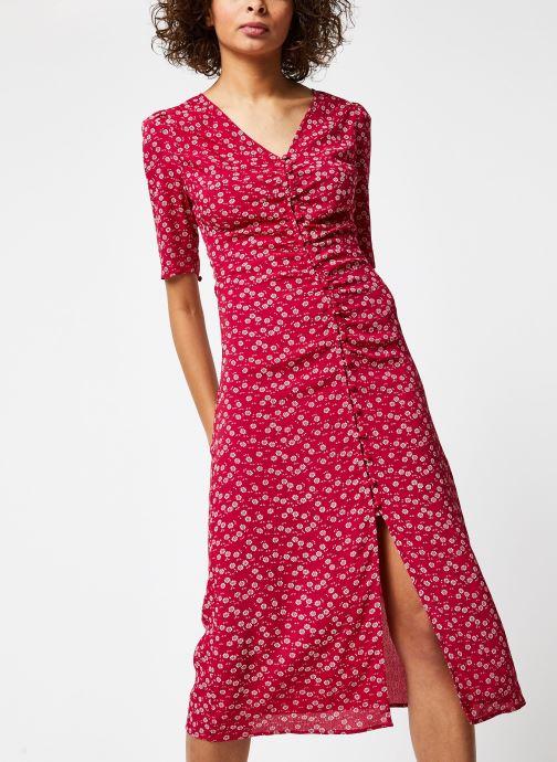 Vêtements Jolie Jolie Petite Mendigote Robe Adele Rouge vue détail/paire