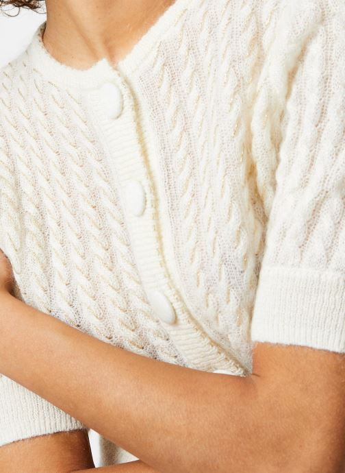 Vêtements Jolie Jolie Petite Mendigote Gilet Alberto Beige vue face
