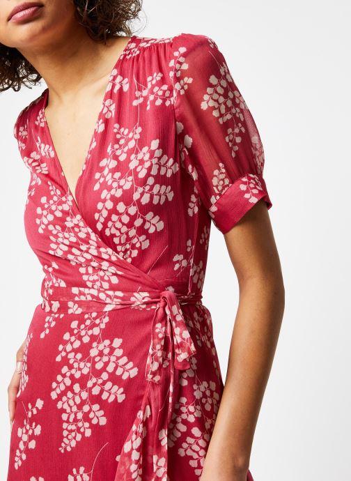 Vêtements Jolie Jolie Petite Mendigote Robe Amelia Jacinthe Rouge vue face