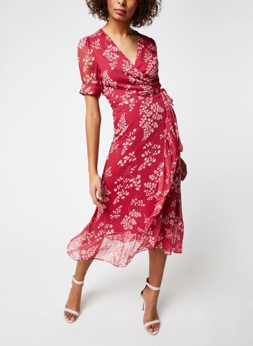 Vêtements Jolie Jolie Petite Mendigote Robe Amelia Jacinthe Rouge vue droite