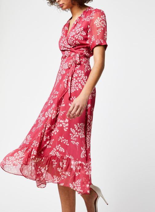 Vêtements Jolie Jolie Petite Mendigote Robe Amelia Jacinthe Rouge vue détail/paire