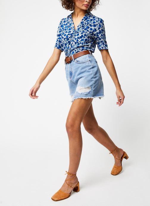 Vêtements Jolie Jolie Petite Mendigote Chemisier Christina Bleu vue bas / vue portée sac