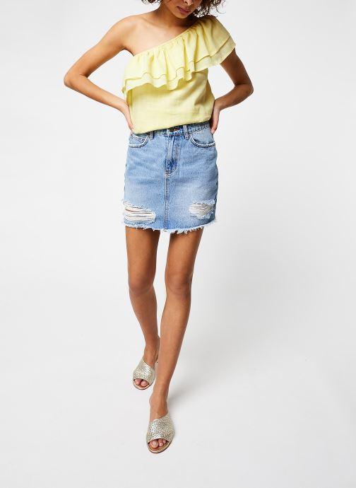 Vêtements Jolie Jolie Petite Mendigote Top Lauren Jaune vue bas / vue portée sac