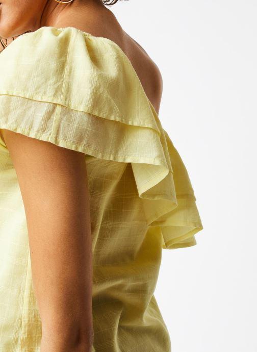 Vêtements Jolie Jolie Petite Mendigote Top Lauren Jaune vue face