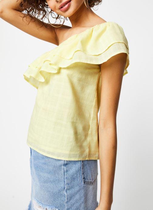 Vêtements Jolie Jolie Petite Mendigote Top Lauren Jaune vue droite