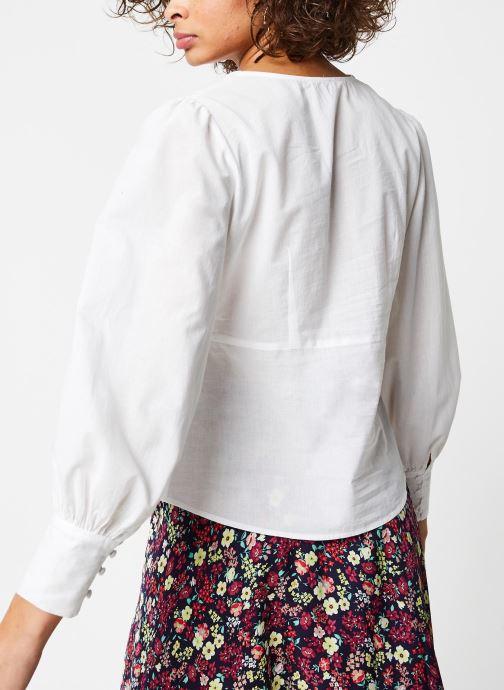 Vêtements Jolie Jolie Petite Mendigote Top Blanc vue portées chaussures