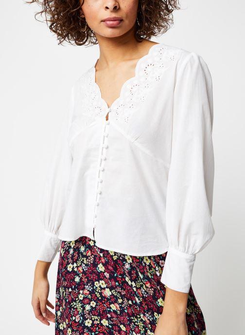 Vêtements Jolie Jolie Petite Mendigote Top Blanc vue droite