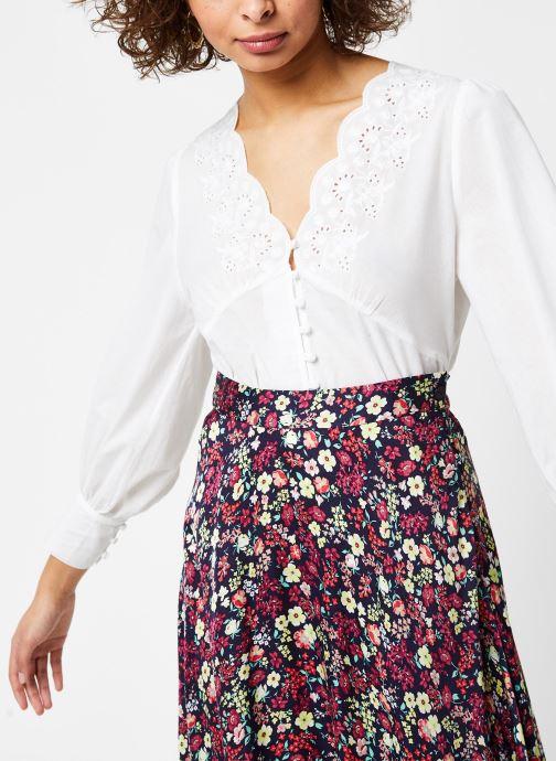 Vêtements Jolie Jolie Petite Mendigote Top Blanc vue détail/paire