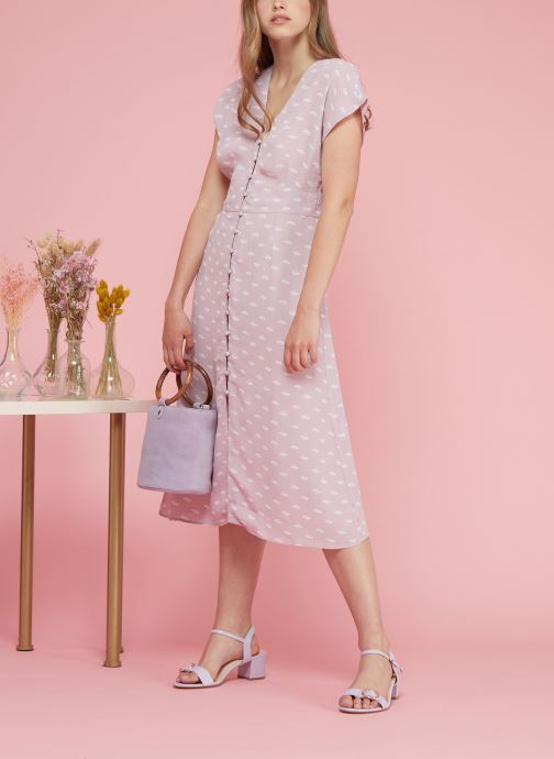 Jolie Petite Mendigote Robe Midi - Nolla Petal (rose) Vêtements(438528)