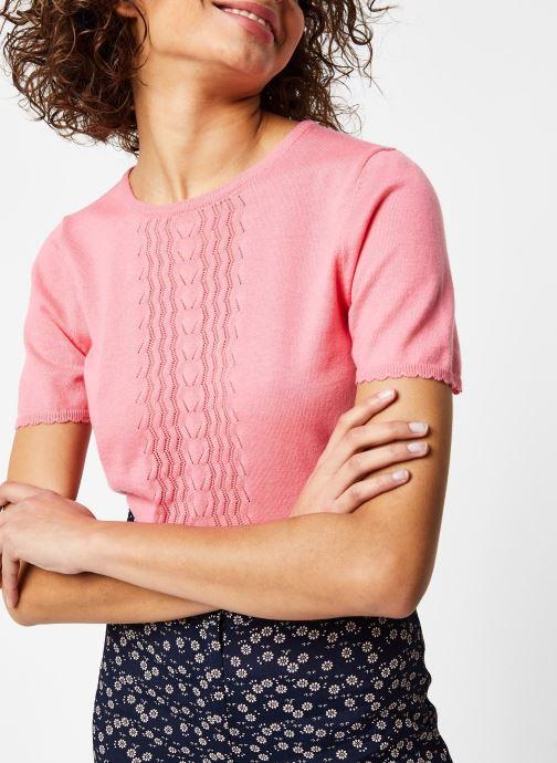 Vêtements Jolie Jolie Petite Mendigote Top Teo Rose vue détail/paire