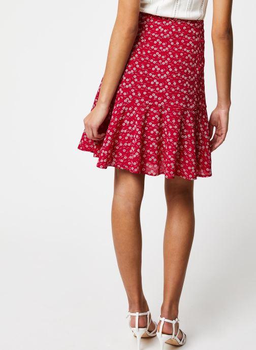 Vêtements Jolie Jolie Petite Mendigote Jupe Victoria Oeil Rouge vue portées chaussures