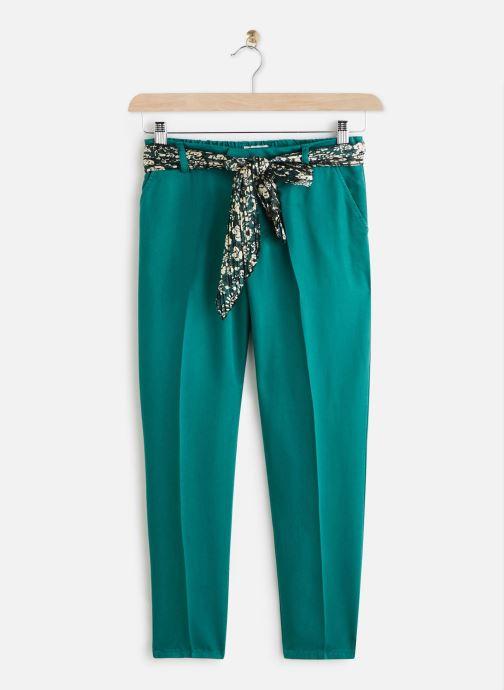 Vêtements Lab Dip Pantalon Thea Tencel Vert vue détail/paire