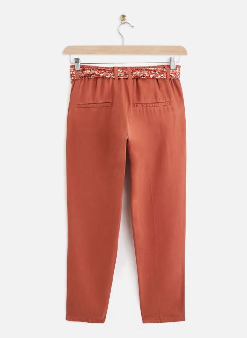 Vêtements Lab Dip Pantalon Thea Tencel Orange vue bas / vue portée sac