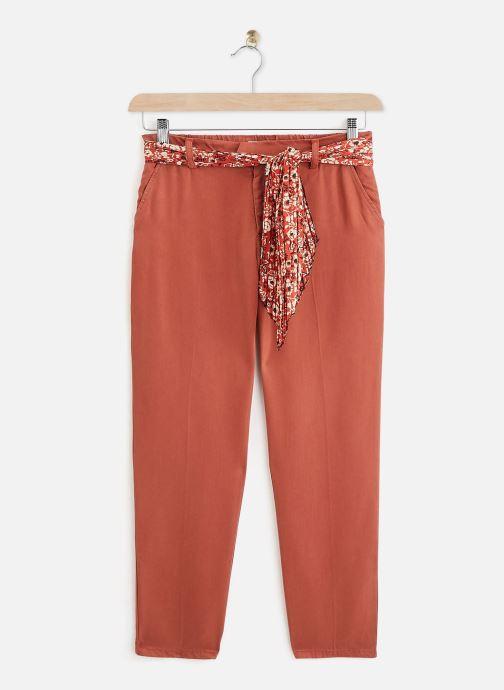 Vêtements Lab Dip Pantalon Thea Tencel Orange vue détail/paire
