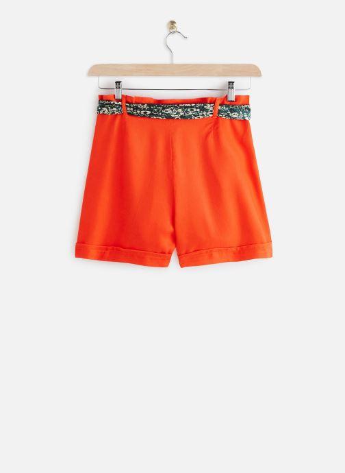 Vêtements Lab Dip Short Clark Tencel Rouge vue bas / vue portée sac