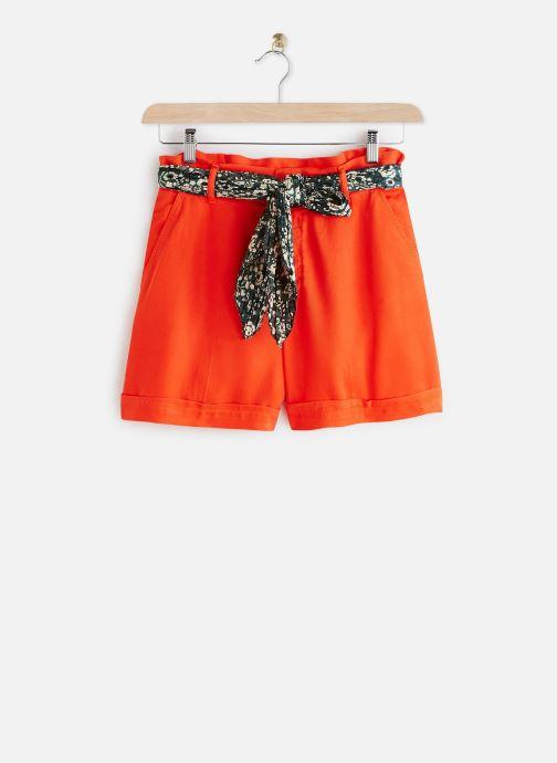 Vêtements Lab Dip Short Clark Tencel Rouge vue détail/paire