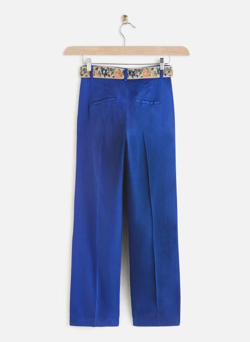 Kleding Lab Dip Pantalon Simon Tencel Blauw onder