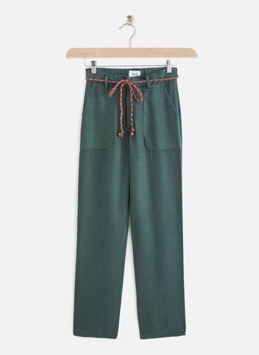 Vêtements Lab Dip Pantalon Jess Tencel Vert vue détail/paire