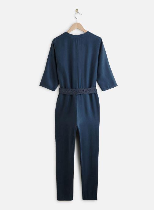 Vêtements Lab Dip Combinaison Lexi Tencel Bleu vue bas / vue portée sac