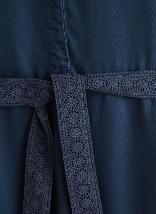 Vêtements Lab Dip Combinaison Lexi Tencel Bleu vue portées chaussures